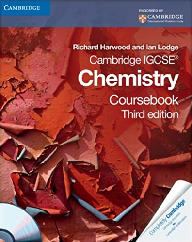 Cambridge IGCSE Chemistry Coursebook with CD-ROM (Cambridge ...