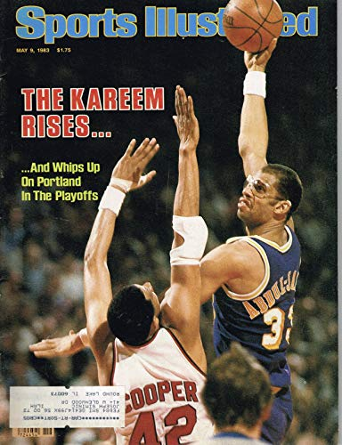 Kareem Abdul-Jabbar May 9, 1983 Sports Illustrated Magazine Journal - 1900