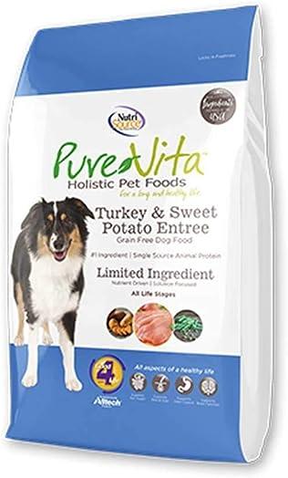 Pure Vita Grain-Free Turkey Sweet Potato Pea