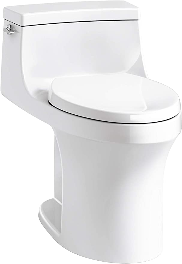 2. Kohler San Souci Comfort Height Compact Elongated Toilet