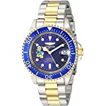 Invicta Men's 'Disney Limited Edition' Automatic Stainless Steel Casual Watch, Color:Two Tone (Model: 24397)