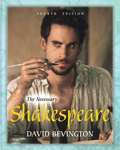Amazon the necessary shakespeare 4th edition 9780321880949 the necessary shakespeare 4th edition 4th edition fandeluxe Images