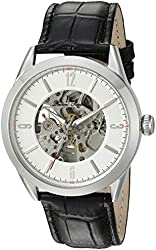Lucien Piccard Watches Loft Leather Band Watch