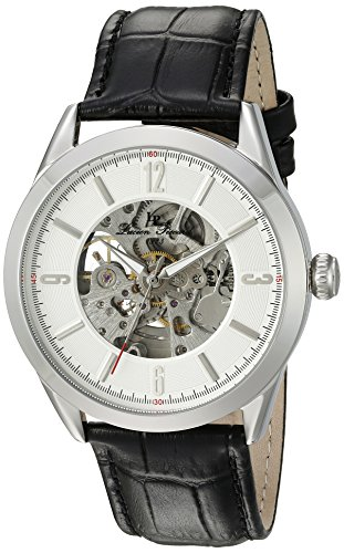 Lucien Piccard Men s LP-10660A-02S Loft Analog Display Automatic Self Wind Black Watch