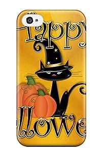 Hot Design Premium FQhbpNT4911NlHxk Tpu Case Cover Iphone 4/4s Protection Case(happy Halloween )