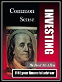 img - for Common Sense Investing book / textbook / text book