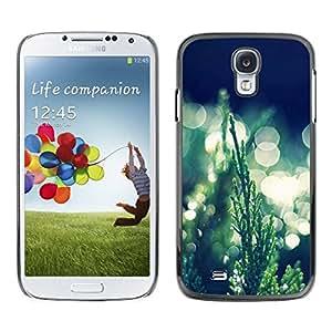 All Phone Most Case / Oferta Especial Duro Teléfono Inteligente PC Cáscara Funda Cubierta de proteccion Caso / Hard Case Samsung Galaxy S4 // Grass Bokeh
