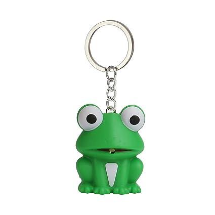 Bloodfin Mini Frog linterna llavero de juguete con sonido ...