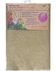 """Penn-Plax BA639 Gravel Paper, 11"""" x 17""""   Great for Hard-Billed Birds   Clean, Easy and Safe for Birds   Aids in Digestion"""