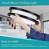 Drosbey 36W Ceiling Light Fixture, 13in Flush Mount