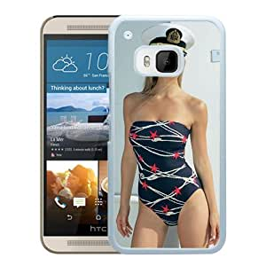 Beautiful Girl Cover Case For HTC ONE M9 With Bar Refaeli Girl Mobile Wallpaper(55) Phone Case