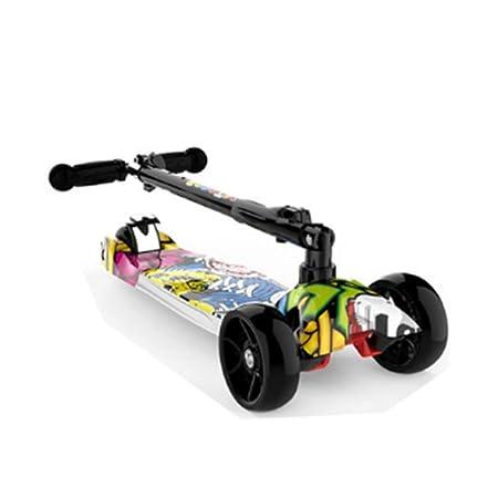 Scooter para niños: Patinete de Tres Ruedas para niños con ...
