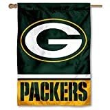 WinCraft Green Bay Packers Two Sided House Flag