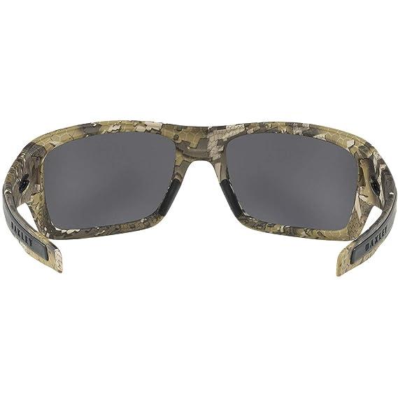 81442b5200 Amazon.com  Oakley Men s Turbine Non-Polarized Iridium Rectangular  Sunglasses