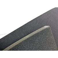 "Polyurethane Foam 1"" x 55 x 82(HxWxL) Charcoal Grey For ATA Road Cases"