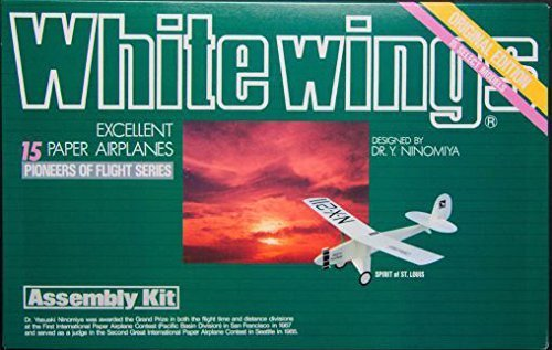 whitewings excellent 15 paper airplanes volume 7