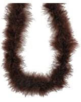 Touch of Nature 37905 Fluffy Boa, Brown