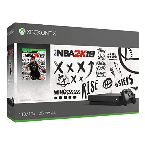 - Xbox One X 1TB Console - NBA 2K19 Bundle