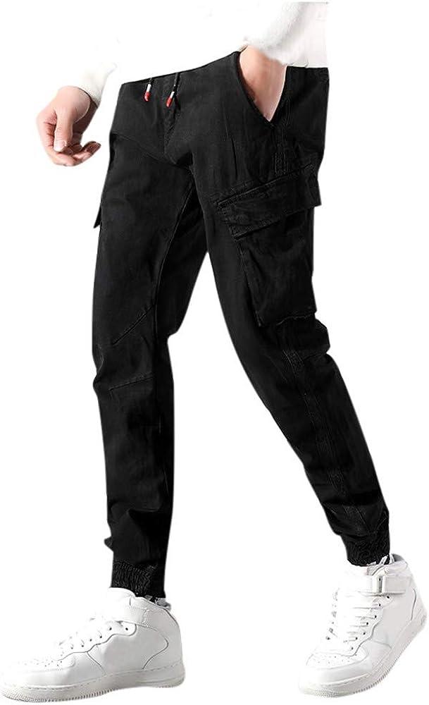 Quaan - Pantalones de chándal para hombre, corte ajustado, de ...