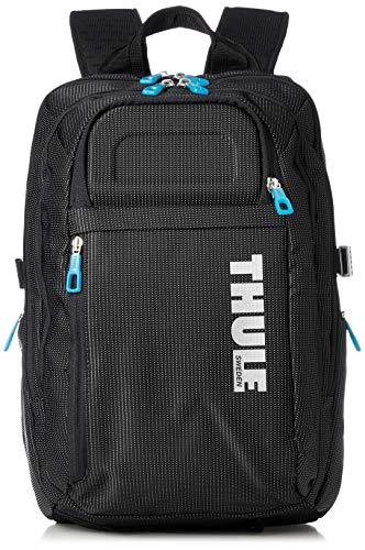 Thule Crossover – Mochila para MacBook Pro 15″, Color Negro con puntos blancos