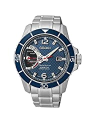 Seiko Sportura Kinetic Direct Drive Stainless Steel Men's watch #SRG017 by Seiko Watches