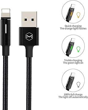 Mcdodo - Cable de Carga y desconexión automáticos con luz LED y ...