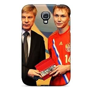 MniSquare NchwD37249tkJPX Case Cover Skin For Galaxy S4 (junior Football Team Of Russia Dmitri Efremov)