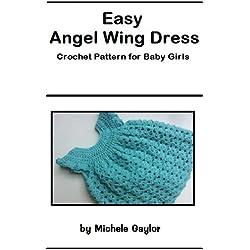 Easy Angel Wing Dress: Crochet Pattern for Baby Girls