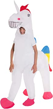 Unicornio Inflable Disfraz Niño Del Caballo Mágico Disfraces Trajes ...