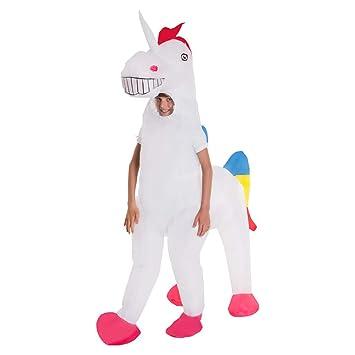 MORPH- Tierischer Halloween Karneval Disfraz, Color Einhorn ...