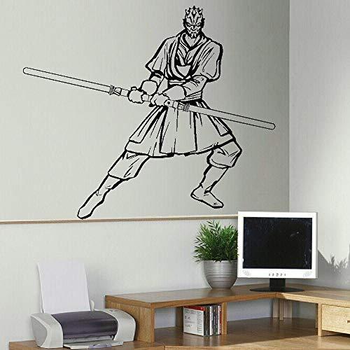 Darth Maul Star Wars Bedroom Wall Art Sticker