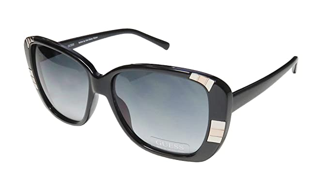 Amazon.com: Guess anteojos de sol GU 7271 acetato BLK-35 ...
