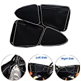 #6: EPSILONT Side Door Bags for Polaris RZR XP 1000 900XC S900 Passenger And Driver Side Storage Bag with Knee Protection (SET OF 2)