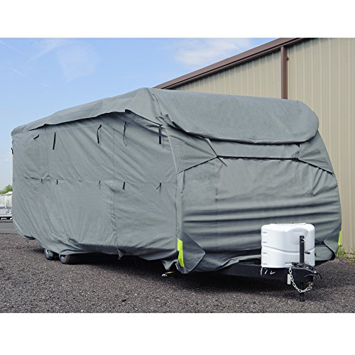 Budge-Premier-Toy-Hauler-RV-Covers-Fits-Toy-Hauler-RVs-up-to-21-Long-Gray-Polyproplyene