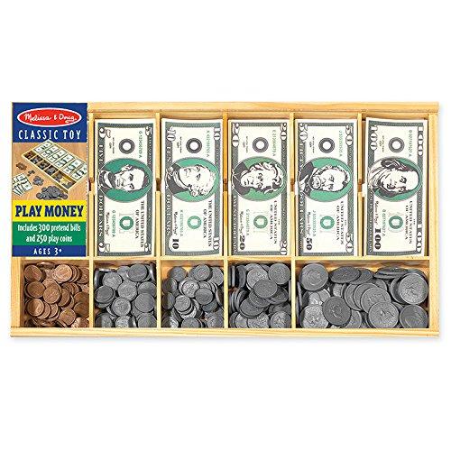 MELISSA & DOUG PLAY MONEY SET (Set of 6) by Melissa & Doug