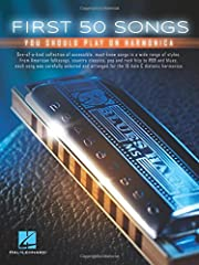 (Harmonica). If you're new to the harmonica, you are probably eager to learn some songs. This book provides easy-to-read harmonica tab, standard notation, basic lyrics and chord symbols for the most popular songs in a wide range of styles. Ea...