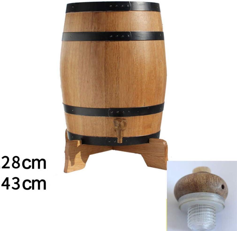 Wine Dispenser, Sin Barril De Vesícula Biliar Madera Carbonizada Antiséptico Vino Rojo Licor Barril De Madera Maciza For Barra Casera Autoayuda Tingting (Color : D, Size : 10L): Amazon.es: Hogar