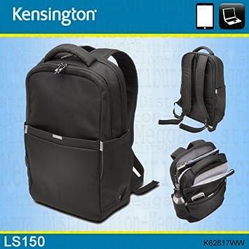 Kensington LS150 15.6 quot  Laptop +Tablet Business Backpack Rucksack Carry  Bag BLACK 4127a78615805