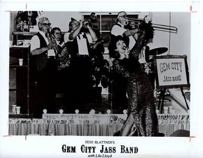 PHOTO original B2118 Gem City Jass Bank Lila Lloyd