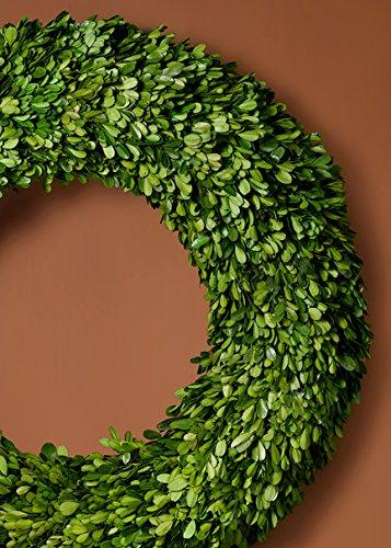 Round Preserved Boxwood Wreath
