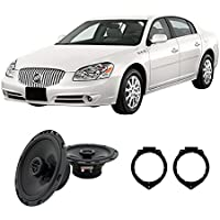 Fits Buick Lucerne 2006-2011 Front Door Factory Replacement Harmony HA-R65 Speakers New