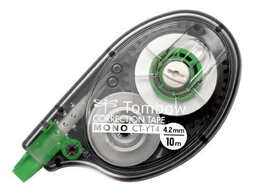 Tombow CT-YT4 Korrekturroller, seitliches Abrollen, 4.2 mm x 10 m, geblistert