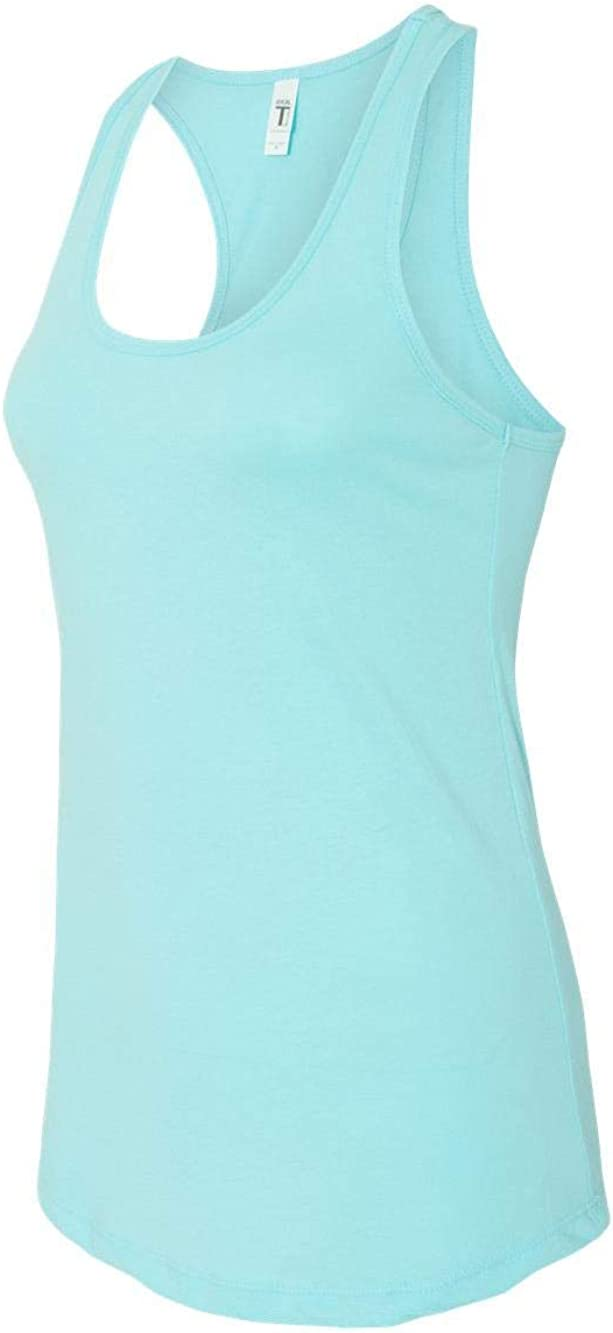 Next Level Apparel Women's The Ideal Quality Tear-Away Tank Top, Cancun, X-Large