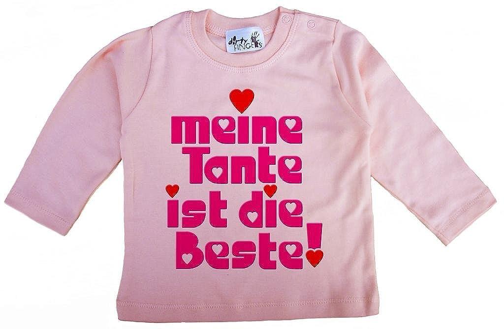 Dirty Fingers Meine Tante ist die Beste!, Mä dchen T-Shirt langä rmlig