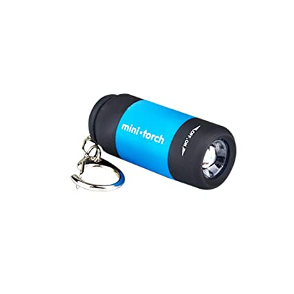 LACKINGONE - Linterna LED de bolsillo recargable por USB ...