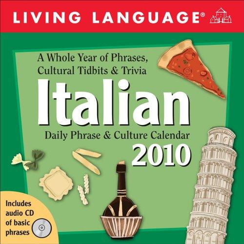 Living Language Italian: 2010 Day-to-Day Calendar (Living 2010 Calendar)
