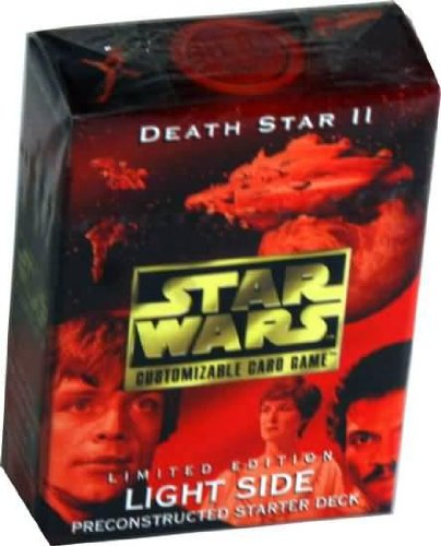 Light Side Starter Deck (Star Wars Death Star II (2) Light Side Preconstructed Starter Deck (Limited Edition) for Star Wars Customizable Card Game by Decipher)