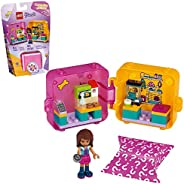 LEGO Friends Andrea's Shopping Play Cube 41405 Building Kit, Includes a Mini-Doll and Toy Pet, Promotes Creati