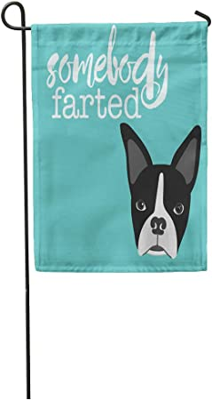 """Boston Terrier Street Sign Dog Lover Funny Home Décor 18/"""" Wide"""