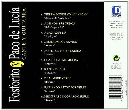 Cante Y Guitarra: Antonio Fernandez Fosforito: Amazon.es: Música
